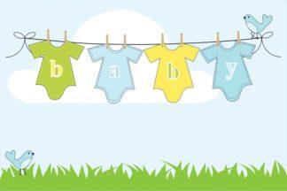Babyshower och dop