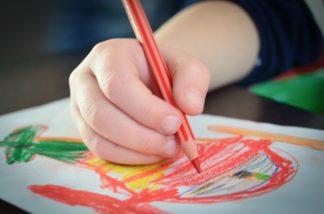 Barnens kreativa pyssel-set